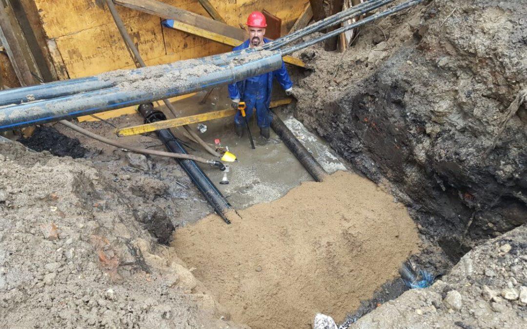 Сети водопровода по адресу: Санкт-Петербург, н-ая Обводного канала, дом 108, литера Ж.